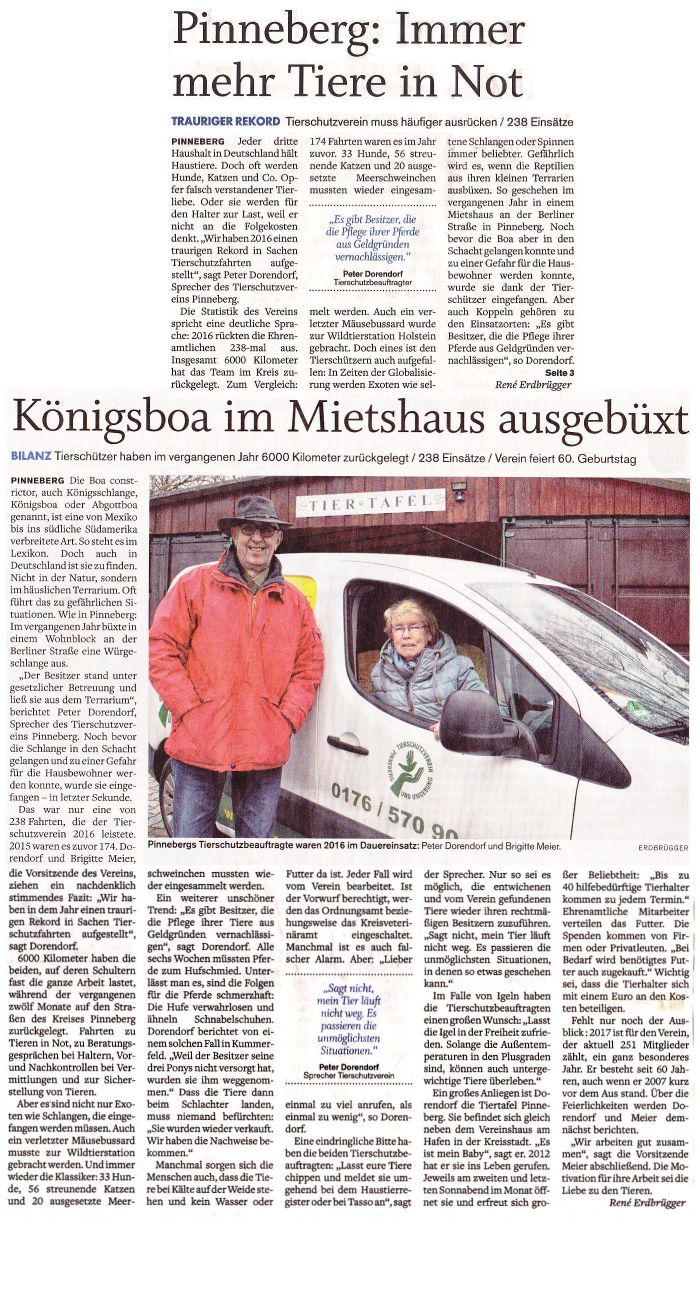 Pinneberger Tageblatt 8-Februar-2017